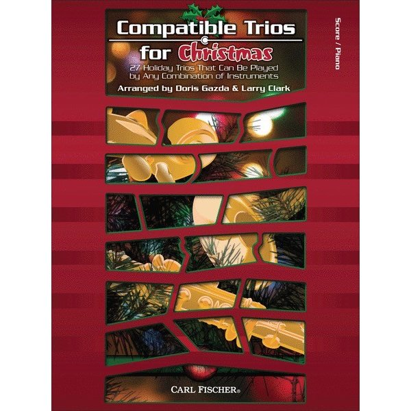 Carl Fischer Compatible Trios for Christmas