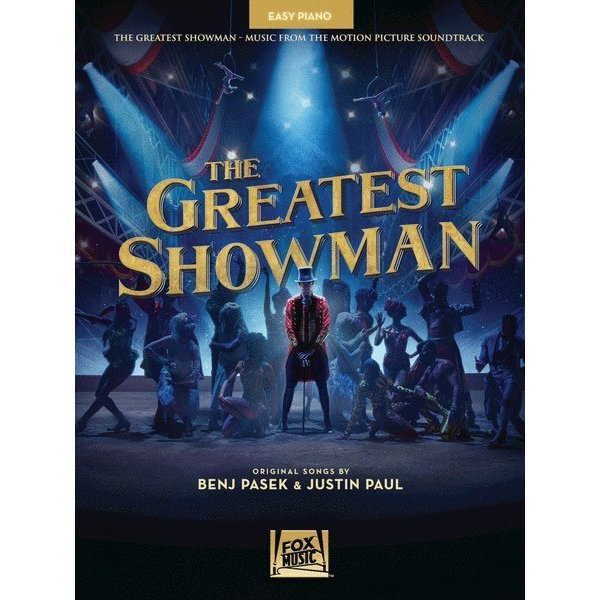 Hal Leonard The Greatest Showman - Easy Piano