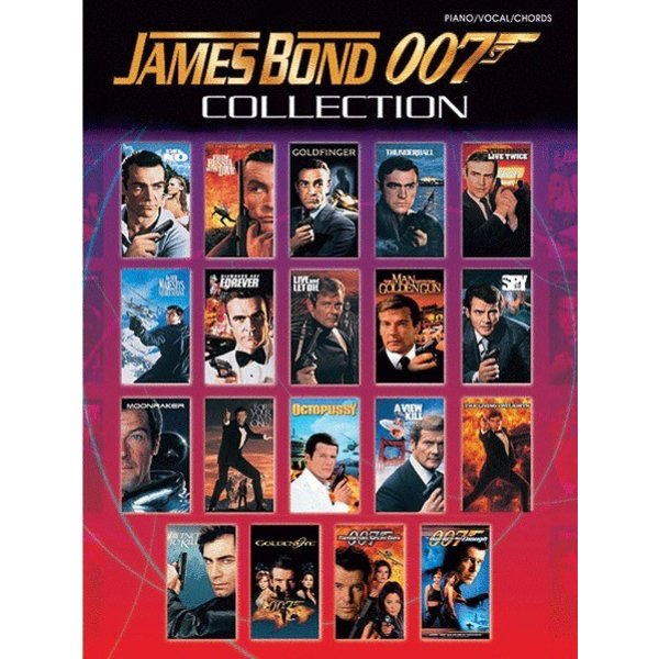 Alfred Music James Bond 007 Collection