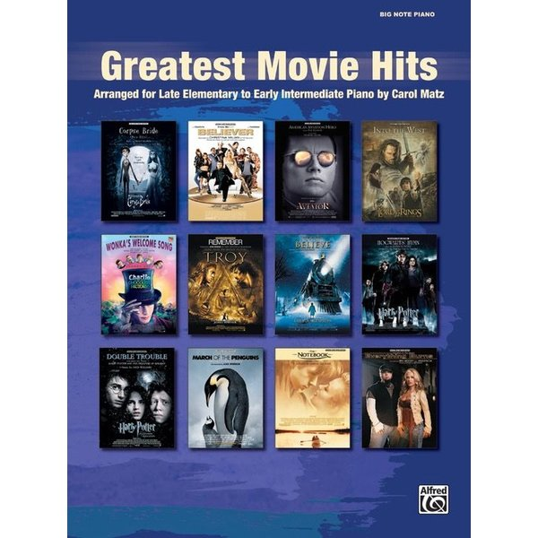 Alfred Music Greatest Movie Hits