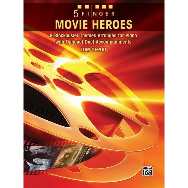 Alfred Music 5 Finger Movie Heroes