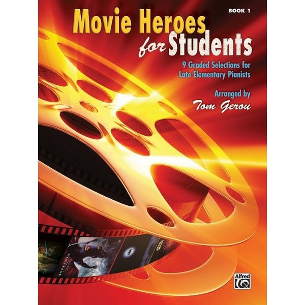 Alfred Music Movie Heroes for Students, Book 1