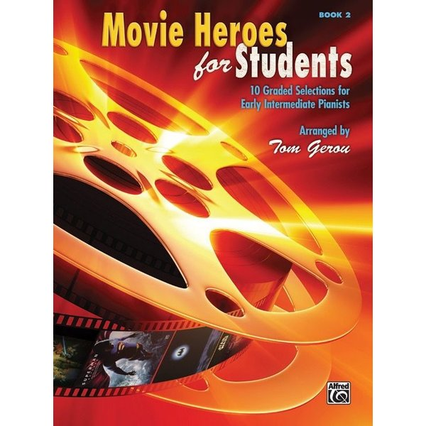 Alfred Music Movie Heroes for Students, Book 2