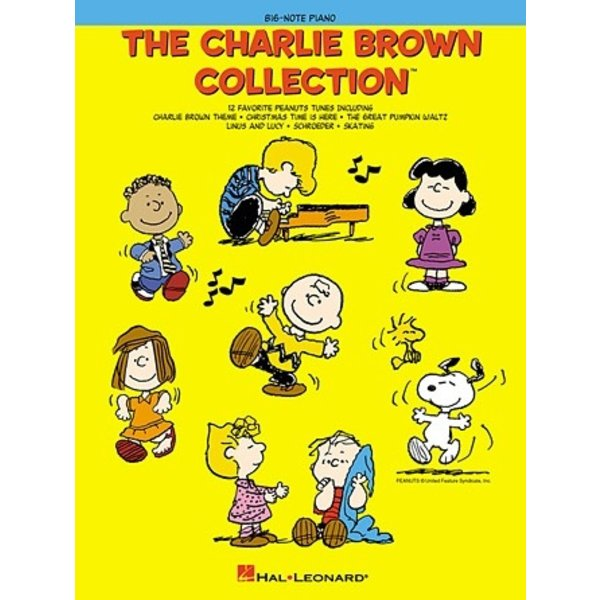 Hal Leonard The Charlie Brown Collection™ Big-Note Piano
