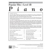 Alfred Music Alfred's Basic Piano Library: Popular Hits, Level 1B
