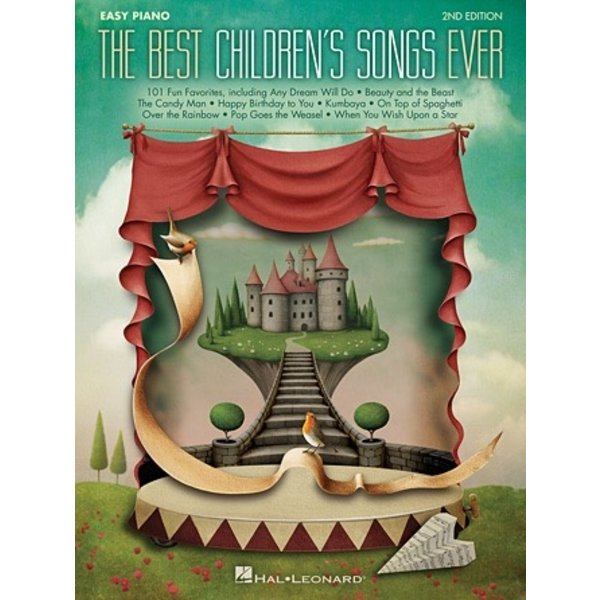 Hal Leonard Best Children's Songs Ever – 2nd Edition