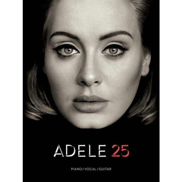 Hal Leonard Adele 25 Piano/Vocal/Guitar