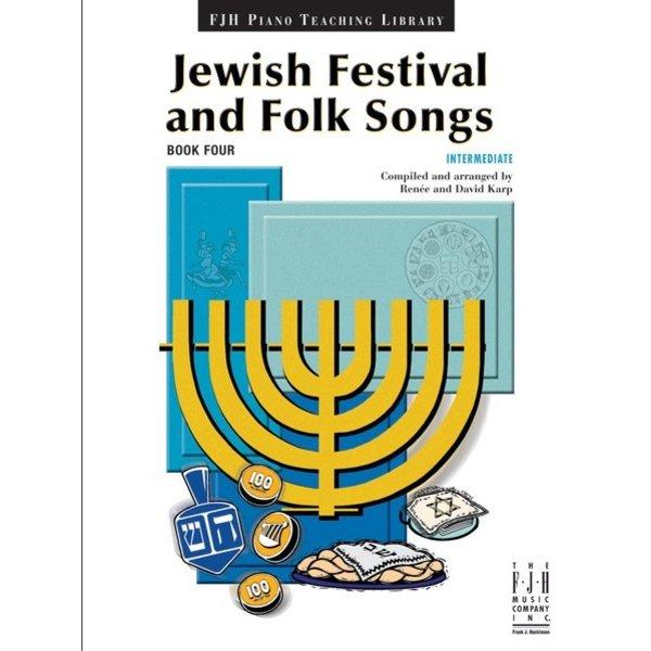 FJH Jewish Festival & Folk Songs, Book 4
