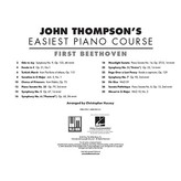 Hal Leonard First Beethoven