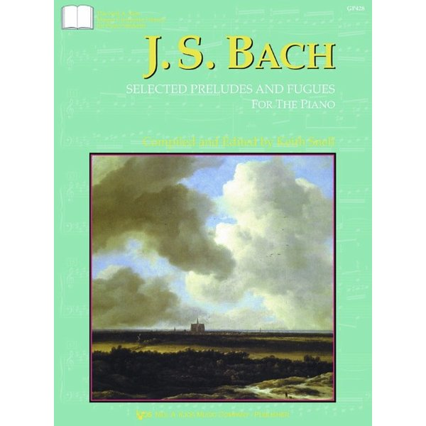 Kjos Bach - Selected Preludes & Fugues For The Piano
