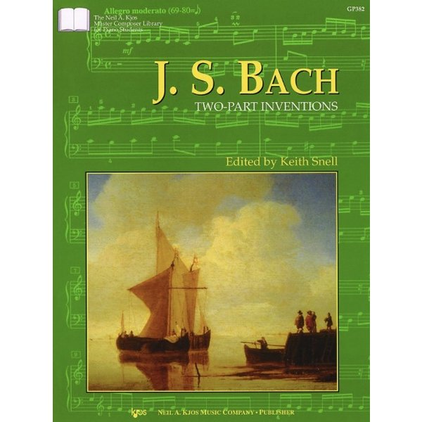 Kjos Bach -Two Part Inventions