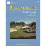 Kjos Burgmüller: Twelve Brilliant and Melodious Studies, Opus 105