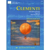 Kjos Clementi Six Sonatinas For Piano