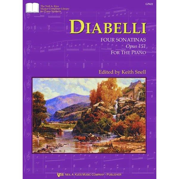 Kjos Diabelli: Four Sonatinas, Op. 151