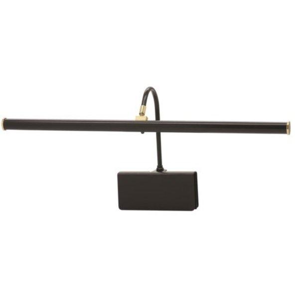House of Troy Slimline LED Black Clip-On Piano Lamp