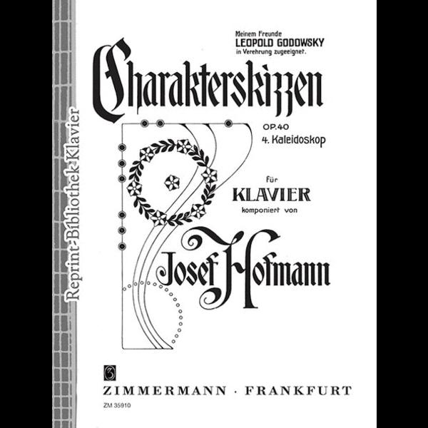 Zimmermann Hofmann - Character Sketches Op.40 No.4 Kaleidoscope