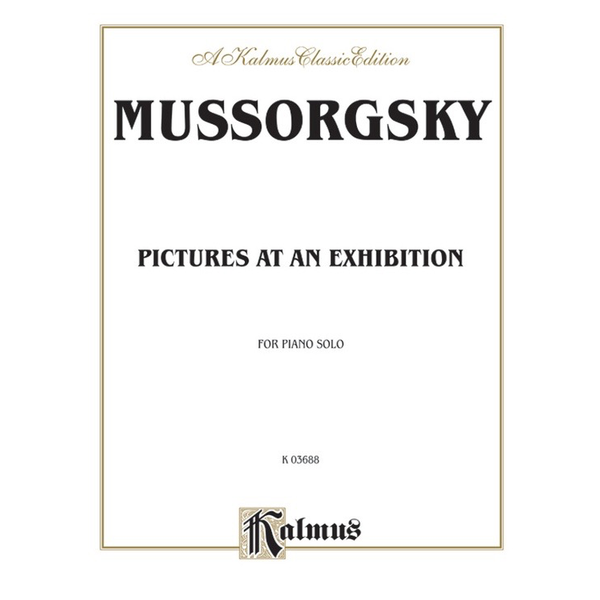 Kalmus Mussorgsky - Pictures at an Exhibition