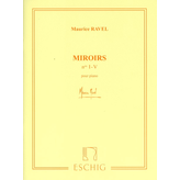 Editions Durand Ravel - Miroirs