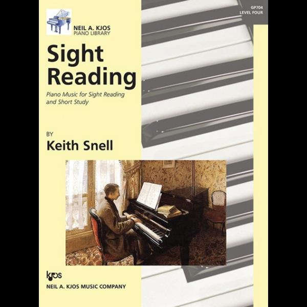 Kjos Sight Reading, Level 4