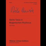Wiener Urtext Edition Bartok - Sechs Tänze in Bulgarischem Rhythmus (6 Dances in Bulgarian Rhythm)