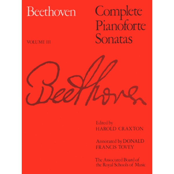 ABRSM Beethoven - Complete Pianoforte Vol. 3
