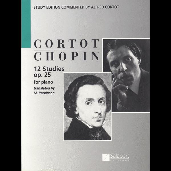Editions Salabert Chopin - 12 Études, Op. 25