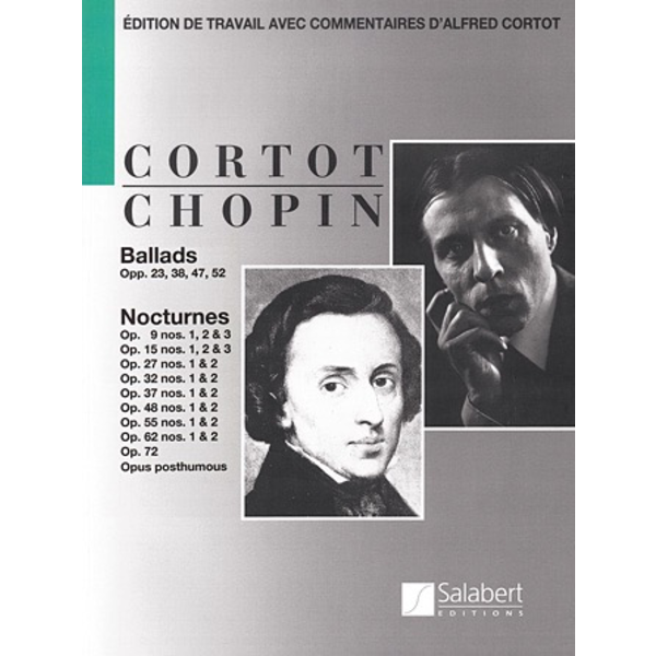 Editions Salabert Chopin - Ballads and Nocturnes for Piano