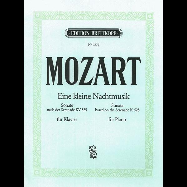 Breitkopf and Haertel Motzart - Eine kleine Nachtmusik G KV525