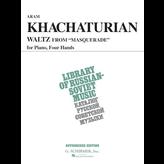 Schirmer Khachaturian - Waltz from Masquerade (VAAP Edition)