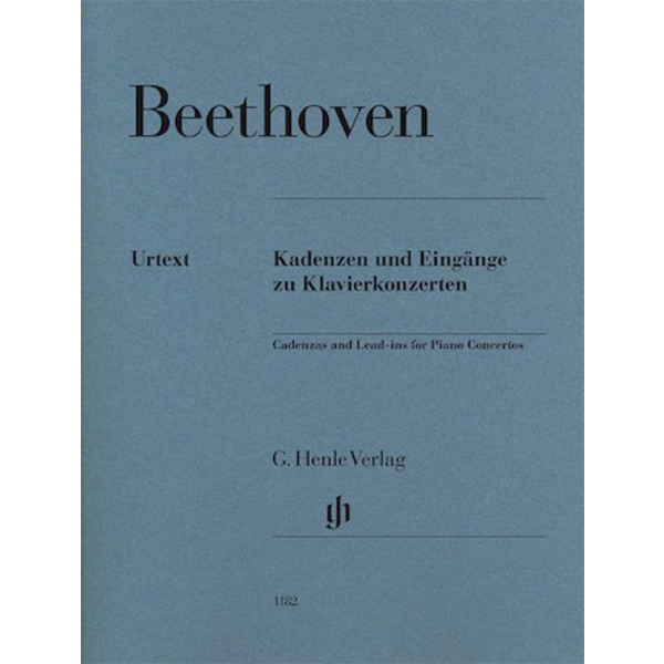 Henle Urtext Editions Beethoven – Cadenzas and Lead-Ins for Piano Concertos