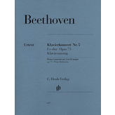 Henle Urtext Editions Beethoven - Concerto for Piano and Orchestra E Flat Major Op. 73, No. 5