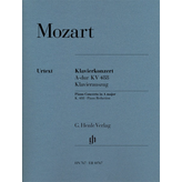 Henle Urtext Editions Mozart - Concerto for Piano and Orchestra A Major K.488