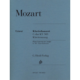 Henle Urtext Editions Mozart - Piano Concerto No. 25 in C Major, K. 503