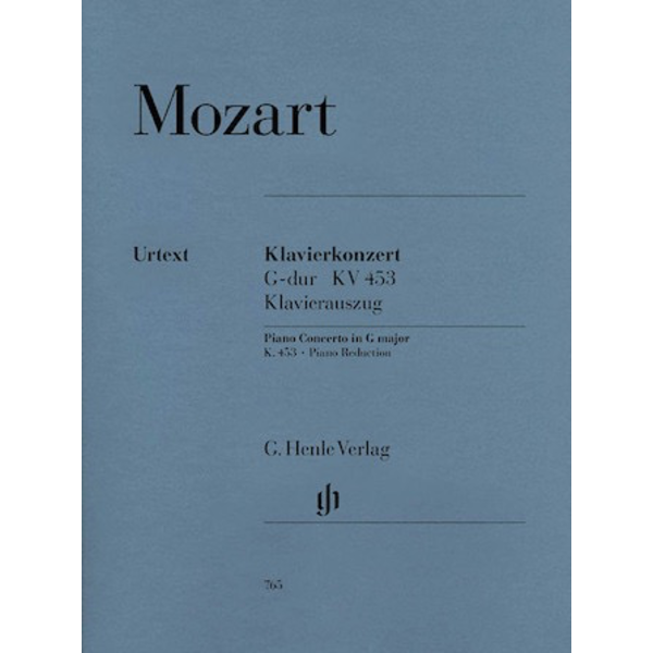 Henle Urtext Editions Mozart - Concerto for Piano and Orchestra G Major K.453
