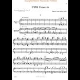 Schirmer Saint-Saëns - Concerto No. 5 in F, Op. 103