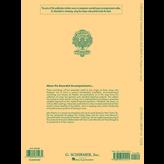 Schirmer 24 Italian Songs & Arias - Medium Low Voice (Book/CD)