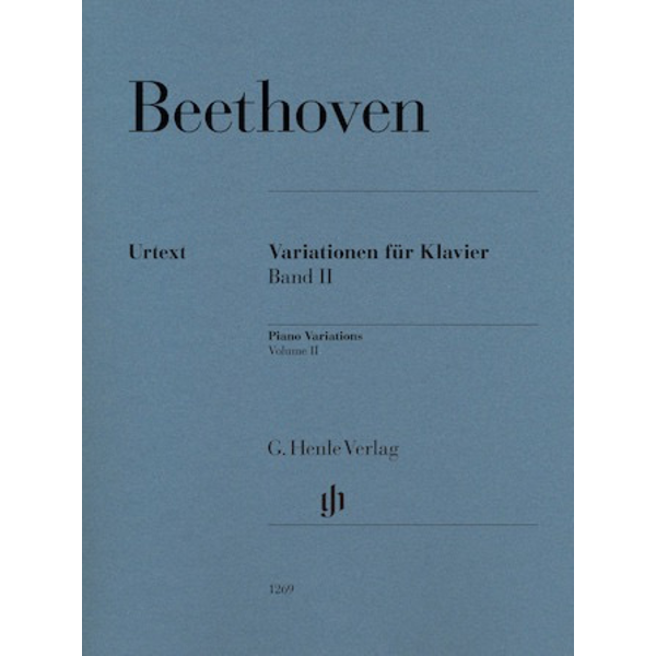 Henle Urtext Editions Beethoven - Variations for Piano