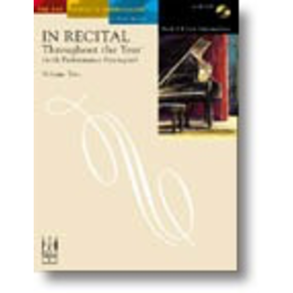 FJH In Recital Throughout the Year (with Performance Strategies) Volume Two, Book 6