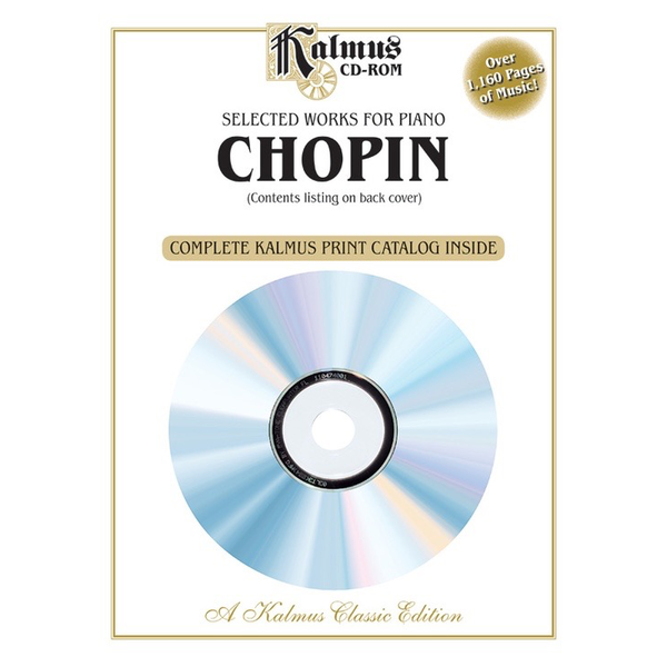 Kalmus Chopin - Selected Works for Piano