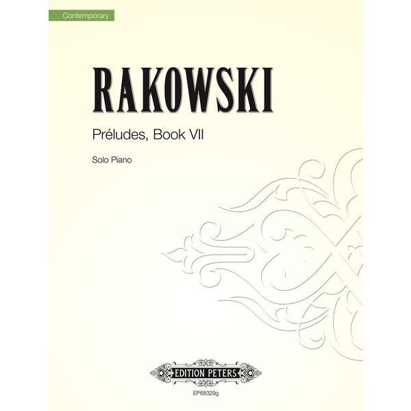Edition Peters Rakowski - Préludes Book IV (2014)