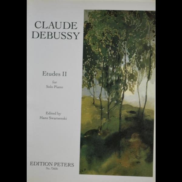 Edition Peters Debussy Etudes Vol. 2