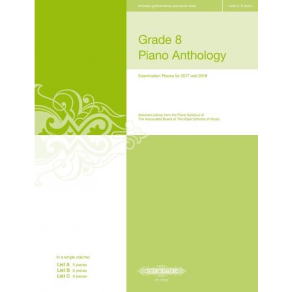 Edition Peters Grade 8 Piano Anthology - Editions Peters