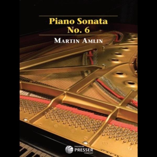 Carl Fischer Piano Sonata No. 6 - Martin Amlin