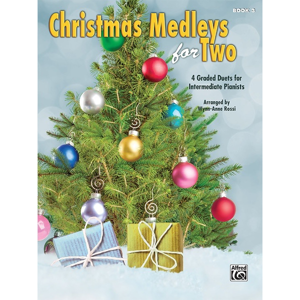 Alfred Music Christmas Medleys for Two, Book 3