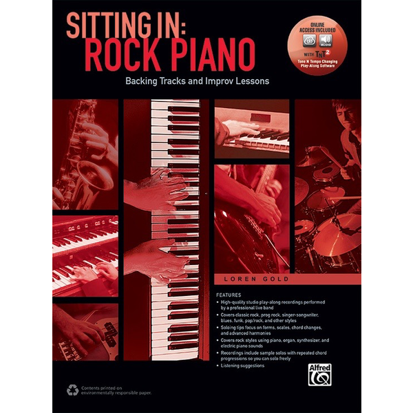 Alfred Music Sitting In: Rock Piano