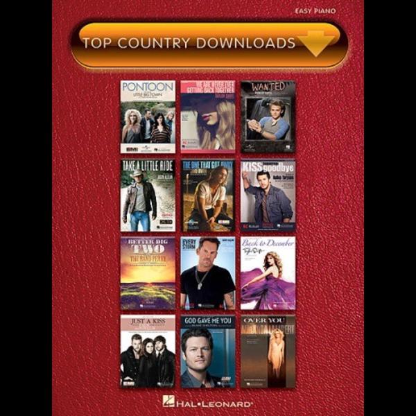 Hal Leonard Top Country Downloads