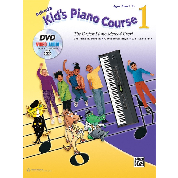 Alfred Music Alfred's Kid's Piano Course 1 (DVD)