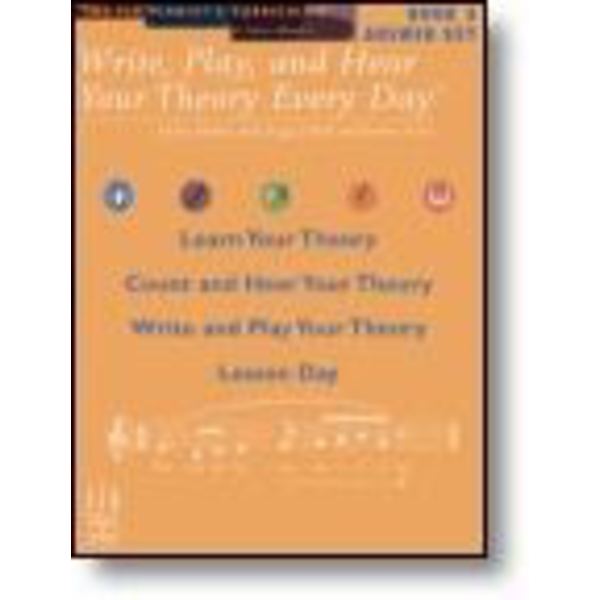 FJH Write, Play, and Hear Your Theory Every Day Answer Key, Book 3