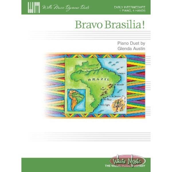 Willis Music Company Bravo Brasilia!
