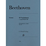 Henle Urtext Editions Beethoven - 32 Variations in C minor, WoO 80